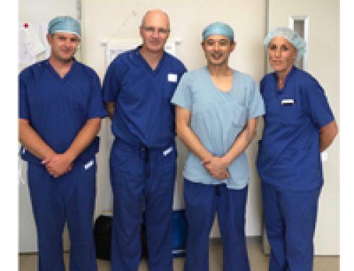 Delivering Leading Edge Orthopedic Medicine to Japan